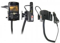 Support voiture  Brodit BlackBerry Curve 8350i  avec chargeur allume cigare - Avec rotule orientable. Réf 968888