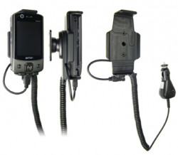 Support voiture  Brodit Eten Glofiish DX900  avec chargeur allume cigare - Avec rotule. Réf 968891