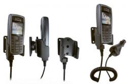 Support voiture  Brodit Nokia 3120  avec chargeur allume cigare - Avec rotule orientable. Réf 968909