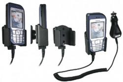 Support voiture  Brodit Nokia 6670  avec chargeur allume cigare - Avec rotule orientable. Réf 968965