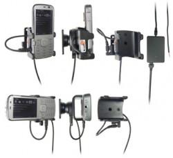 Support voiture  Brodit Nokia N79  installation fixe - Avec rotule, connectique Molex. Chargeur 2A. Réf 971275