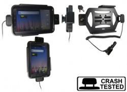 Support voiture  Brodit Samsung Galaxy Tab GT-P1000  antivol - Avec câble allume-cigare. Avec rotule. 2 clefs. Pour  étui Otterbox Defender (non livré). Réf 535261