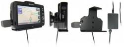 Support voiture  Brodit Navman N60i  installation fixe - Avec rotule. 12/24 Volt, 2 Un chargeur. Réf 215241