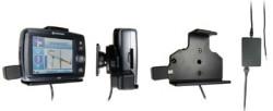 Support voiture  Brodit Navman F20  installation fixe - Avec rotule. 12/24 Volt, 2 Un chargeur. Réf 215242