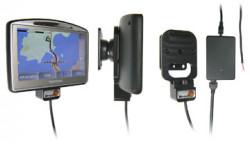 Support voiture  Brodit TomTom GO 520  installation fixe - Avec rotule. 12/24 Volt, 2 Un chargeur. Réf 215269
