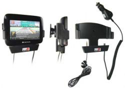 Support voiture  Brodit Navigon 7100  avec chargeur allume cigare - Avec rotule. Grâce à la connectivité TMC. Réf 215290