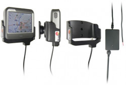 Support voiture  Brodit Mio C230  installation fixe - Avec rotule. 12/24 Volt, 2 Un chargeur. Réf 274014