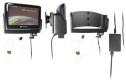 Support voiture  Brodit Navigon 3300 Max  installation fixe - Avec rotule. Grâce à la connectivité TMC, antenne TMC inclus. 12/24 Volt. Réf 279028