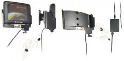 Support voiture  Brodit Navigon 2200  installation fixe - Avec rotule. Grâce à la connectivité TMC, antenne TMC inclus. 12/24 Volt. Réf 279031