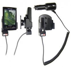Support voiture  Brodit Sony Ericsson Xperia X10 mini  avec chargeur allume cigare - Avec rotule orientable. Réf 512155
