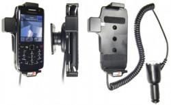 Support voiture  Brodit BlackBerry Pearl 9100  avec chargeur allume cigare - Avec rotule orientable. Réf 512182