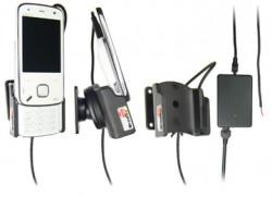 Support voiture  Brodit Nokia N86  installation fixe - Avec rotule, connectique Molex. Chargeur 2A. Pour position ouverte. Réf 513007