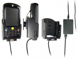 Support voiture  Brodit Motorola MC55  installation fixe - Avec rotule, connectique Molex. Chargeur 2A. Pour appareil avec batterie standard et étendu. Réf 513013
