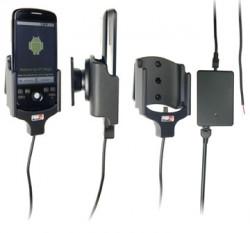 Support voiture  Brodit HTC Magic  installation fixe - Avec rotule, connectique Molex. Chargeur 2A. Réf 513019
