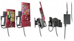Support voiture  Brodit Sony Ericsson W995  installation fixe - Avec rotule, connectique Molex. Chargeur 2A et Pass-Through Connector pour la connectivité casque. Réf 513024