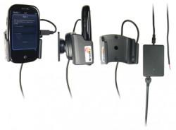 Support voiture  Brodit Palm Pre  installation fixe - Avec rotule, connectique Molex. Chargeur 2A. Pour une position fermée. Réf 513027