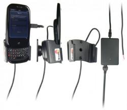 Support voiture  Brodit Palm Pre  installation fixe - Avec rotule, connectique Molex. Chargeur 2A. Pour une position ouverte. Réf 513028