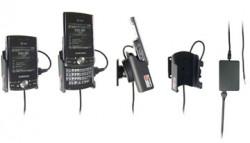 Support voiture  Brodit Samsung Propel Pro  installation fixe - Avec rotule, connectique Molex. Chargeur 2A. Réf 513035