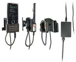 Support voiture  Brodit Nokia 6700 Classic  installation fixe - Avec rotule, connectique Molex. Chargeur 2A. Réf 513037