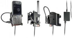 Support voiture  Brodit Nokia E52  installation fixe - Avec rotule, connectique Molex. Chargeur 2A. Réf 513043