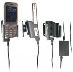 Support voiture  Brodit Nokia 6720 Classic  installation fixe - Avec rotule, connectique Molex. Chargeur 2A. Réf 513058