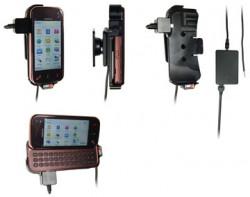 Support voiture  Brodit Nokia N97 Mini  installation fixe - Avec rotule, connectique Molex. Chargeur 2A. Réf 513072