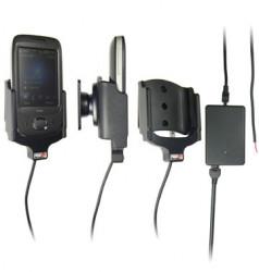 Support voiture  Brodit HTC Touch Viva  installation fixe - Avec rotule, connectique Molex. Chargeur 2A. Réf 513073