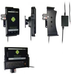 Support voiture  Brodit Motorola Droid (CDMA)  installation fixe - Avec rotule, connectique Molex. Chargeur 2A. Réf 513090