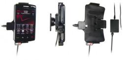 Support voiture  Brodit BlackBerry Storm 2  installation fixe - Avec rotule, connectique Molex. Chargeur 2A. Réf 513092