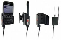 Support voiture  Brodit Nokia E72  installation fixe - Avec rotule, connectique Molex. Chargeur 2A. Réf 513094