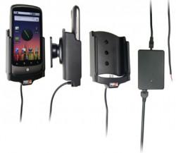 Support voiture  Brodit Nexus One  installation fixe - Avec rotule, connectique Molex. Chargeur 2A. Réf 513116