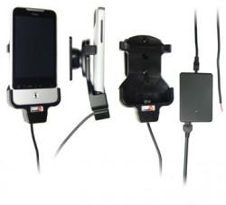 Support voiture  Brodit HTC Legend  installation fixe - Avec rotule. Chargeur 2A. Réf 513136