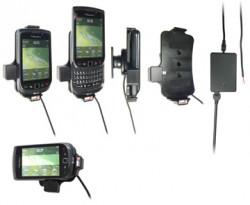 Support voiture  Brodit BlackBerry Torch 9800  installation fixe - Avec rotule, connectique Molex. Chargeur 2A. Réf 513179