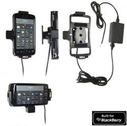 Support voiture  Brodit BlackBerry Torch 9850  installation fixe - Avec rotule, connectique Molex. Chargeur 2A. Réf 513288