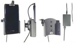 Support voiture  Brodit Motorola Droid Razr XT912  installation fixe - Avec rotule, connectique Molex. Chargeur 2A. Réf 513315