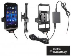 Support voiture  Brodit BlackBerry Z30  installation fixe - Avec rotule, connectique Molex. Chargeur 2A. Réf 513547