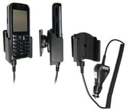 Support voiture  Brodit Nokia 6233  avec chargeur allume cigare - Avec rotule orientable. Réf 965082