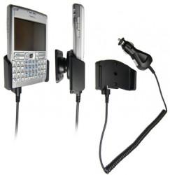 Support voiture  Brodit Nokia E61  avec chargeur allume cigare - Avec rotule orientable. Réf 965098