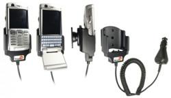 Support voiture  Brodit Sony Ericsson P990i  avec chargeur allume cigare - Avec rotule orientable. Réf 965099