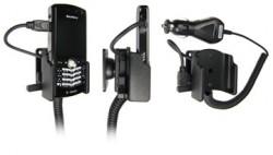 Support voiture  Brodit BlackBerry Pearl 8100  avec chargeur allume cigare - Avec rotule orientable. Réf 965114