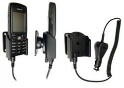 Support voiture  Brodit Nokia E50  avec chargeur allume cigare - Avec rotule orientable. Réf 965132