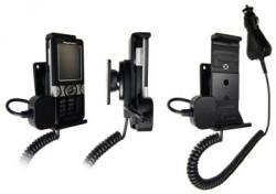 Support voiture  Brodit Sony Ericsson K550  avec chargeur allume cigare - Avec rotule orientable. Réf 965144