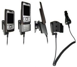 Support voiture  Brodit Nokia E65  avec chargeur allume cigare - Avec rotule orientable. Réf 965147