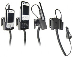 Support voiture  Brodit Nokia 6110 Navigator  avec chargeur allume cigare - Avec rotule orientable. Réf 965164