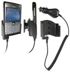 Support voiture  Brodit Nokia E61i  avec chargeur allume cigare - Avec rotule orientable. Réf 965170