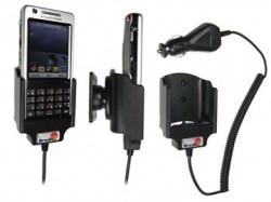 Support voiture  Brodit Sony Ericsson P1i  avec chargeur allume cigare - Avec rotule orientable. Réf 965171
