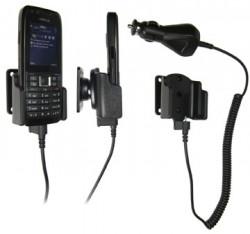 Support voiture  Brodit Nokia E51  avec chargeur allume cigare - Avec rotule orientable. Réf 965180