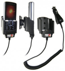 Support voiture  Brodit Sony Ericsson K850i  avec chargeur allume cigare - Avec rotule orientable. Réf 965183