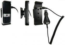 Support voiture  Brodit Nokia 2630  avec chargeur allume cigare - Avec rotule orientable. Réf 965197