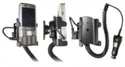 Support voiture  Brodit Nokia N82  avec chargeur allume cigare - Avec rotule orientable. Réf 965198